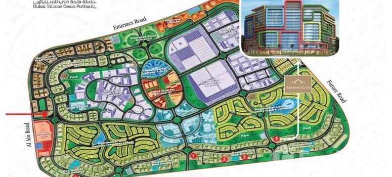 Master Plan of Arabian Gate - Photo 1