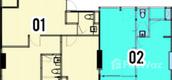 Unit Floor Plans of Jewel Pratumnak