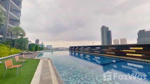 3D Walkthrough of the Communal Pool at Supalai Park Ekkamai-Thonglor