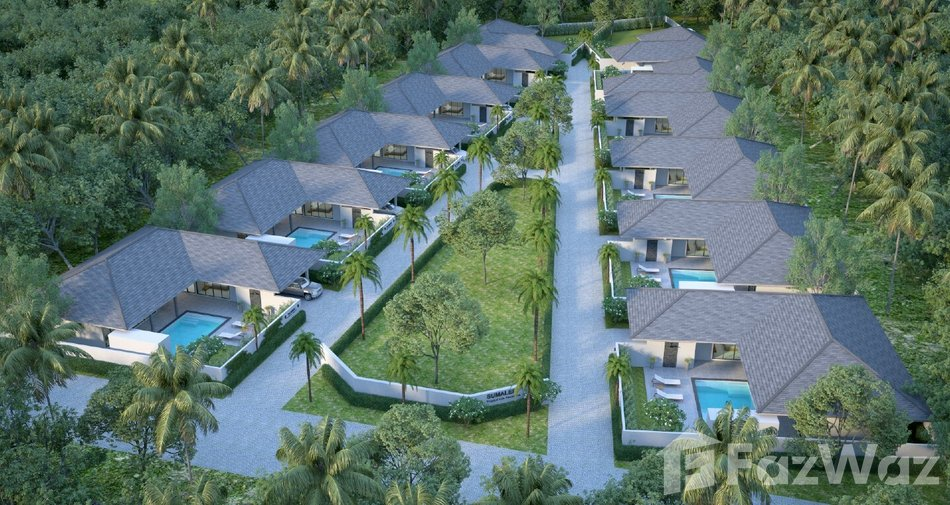 The cheapest residential projects in Koh Samui - Sumalee by Tropical Life Residence