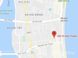 N/A Đất bán ở Phước Mỹ, Đà Nẵng Bán 170m2 đường Tô Hiến Thành, Sơn Trà, Đà Nẵng, giá rẻ siêu đầu tư. LH: +66 (0) 2 508 8780