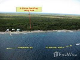 N/A Terreno (Parcela) en venta en , Islas De La Bahia - Big Rock - South Shore, Utila, Islas de la Bahia
