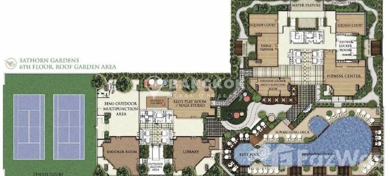 Master Plan of Sathorn Gardens - Photo 1