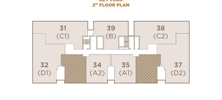 Master Plan of The Private Residence Rajdamri - Photo 1