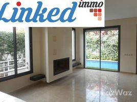 Grand Casablanca Na Anfa Villa neuve à louer, 4 chambres, piscine, Ain Diab. 4 卧室 别墅 租