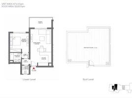 Al Bahr Al Ahmar Penthouse for Sale in Tawila Gouna 1 卧室 顶层公寓 售