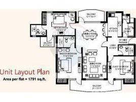 Haryana Faridabad Sector-88 3 卧室 房产 售