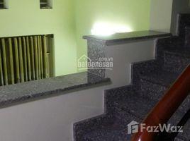 Studio House for sale in Ward 5, Ho Chi Minh City Nhà hẻm 506 Lạc Long Quân, (4,5x13m, NH 4,8m), lửng - lầu mới, hẻm 5m