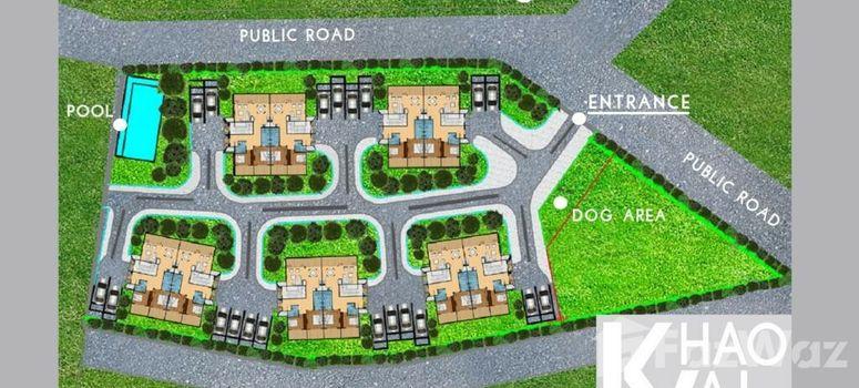 Master Plan of Khao Yai Hua Hin Apartments - Photo 1