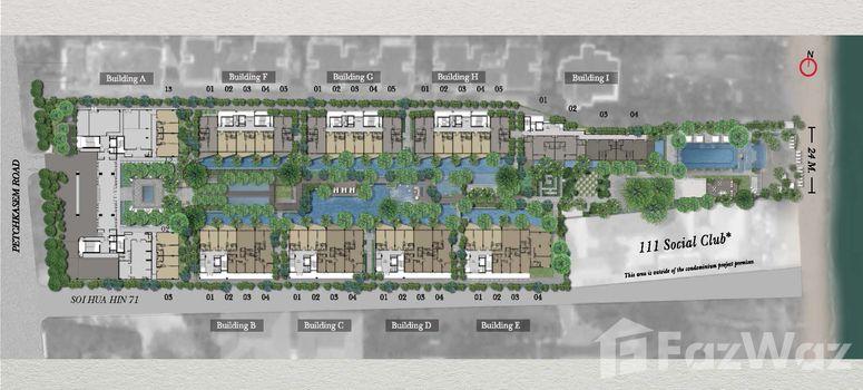 Master Plan of InterContinental Residences Hua Hin - Photo 1