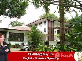 Yangon Bahan 5 Bedroom House for rent in Yangon 5 卧室 屋 租