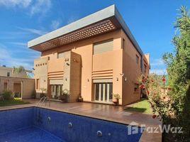 Marrakech Tensift Al Haouz Na Marrakech Medina à louer belle villa style moderne, de 3 chambres, jardin et piscine privative, dans un grand domaine de 50 ha, avec 2 terrains de tennis et foot situé 3 卧室 别墅 租