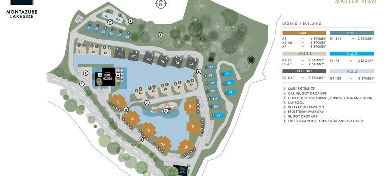 Master Plan of MGallery Residences, MontAzure Lakeside - Photo 1
