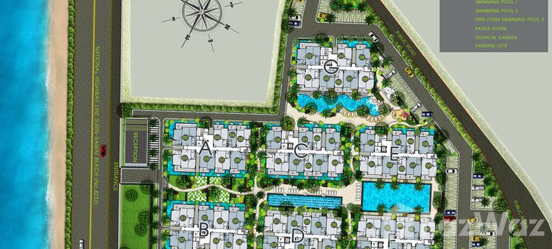 Master Plan of The Title Rawai Phase 1-2 - Photo 1