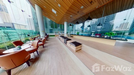 3D Walkthrough of the Library / Reading Room at Wish Signature Midtown Siam