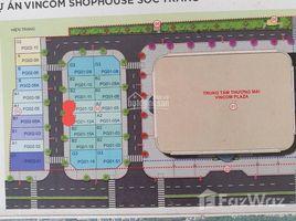 5 Bedrooms House for sale in Ward 2, Soc Trang Cần bán nhà phố Shophouse Vincom Sóc Trăng chỉ 8,5 tỷ - LH: +66 (0) 2 508 8780