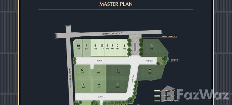 Master Plan of The Gentry Vibhavadi - Photo 1