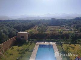 Marrakech Tensift Al Haouz Na Marrakech Medina Magnifique villa en vente avec vue sue l'atlas 5 卧室 别墅 售
