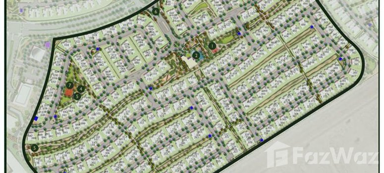 Master Plan of Maple 2 at Dubai Hills Estate - Photo 1