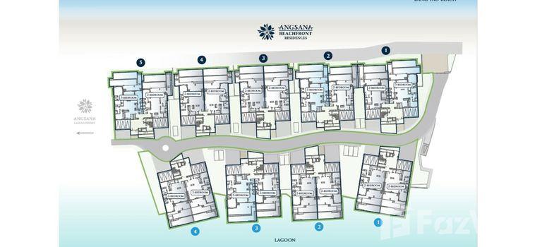 Master Plan of Angsana Beachfront Residences - Photo 1