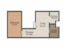 Delhi, नई दिल्ली Sunrise Home में 1 बेडरूम मकान बिक्री के लिए
