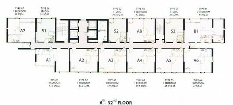 Master Plan of Vantage Ratchavipa - Photo 1