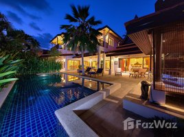 苏梅岛 马叻 3-Bed Balinese Pool Villa, Steps To Nahai Beach, Lamai Area 3 卧室 屋 租