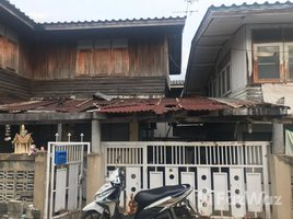 1 Bedroom House for sale in Sai Mai, Bangkok Sell 2 Semi-Detached Wooden Houses, Phahonyothin Road