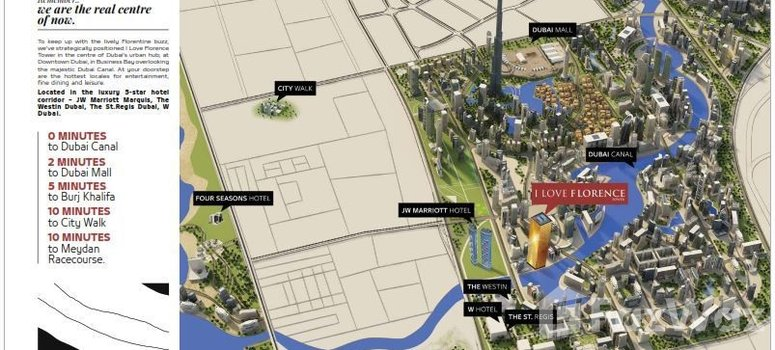 Master Plan of I Love Florence Tower - Photo 1