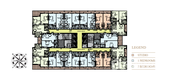 Unit Floor Plans of Arabian Gate 1