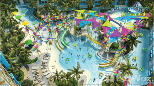 Photos 1 of the Communal Pool at Seven Seas Le Carnival
