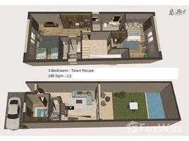 Al Bahr Al Ahmar 3 BR Townhouse with Private Pool & Private Garden 3 卧室 联排别墅 售