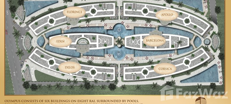 Master Plan of Olympus City Garden - Photo 1