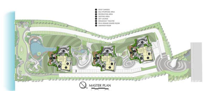 Master Plan of Supalai Riva Grande - Photo 3