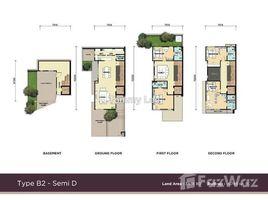 4 Bedrooms Townhouse for sale in Padang Masirat, Kedah Desa Petaling, Kuala Lumpur