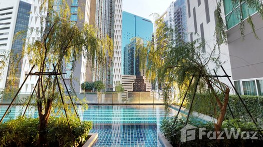 3D Walkthrough of the Communal Pool at Noble Revolve Ratchada