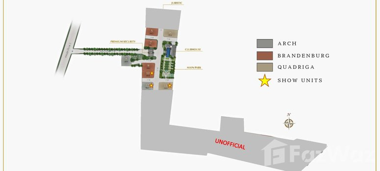 Master Plan of Grand Bangkok Boulevard Bangna-Onnut - Photo 1