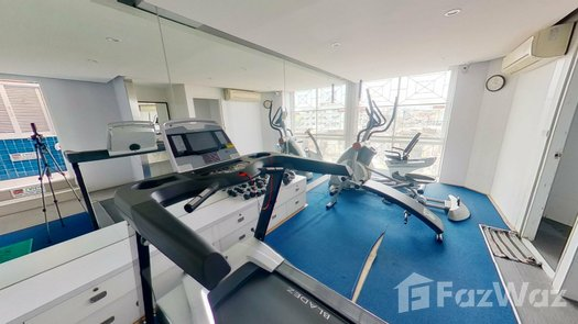 3D Walkthrough of the Communal Gym at Citrine Sathorn-Taksin