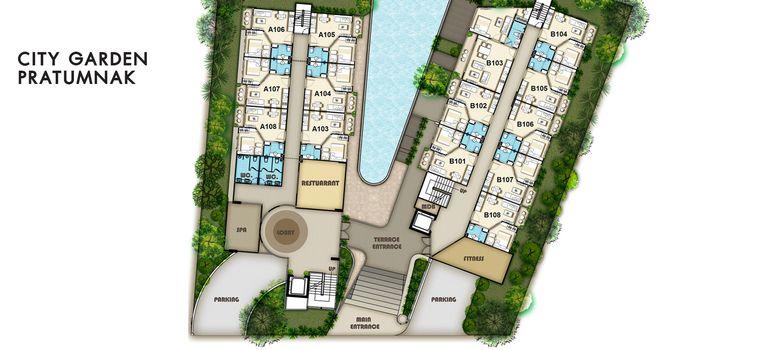 Master Plan of City Garden Pratumnak - Photo 1