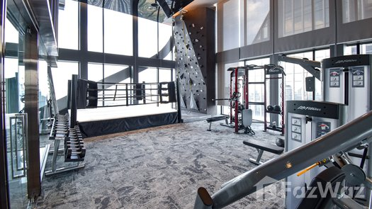 3D Walkthrough of the Communal Gym at The ESSE At Singha Complex