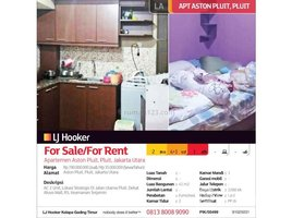 Aceh Pulo Aceh Apartemen Aston Pluit 2 卧室 住宅 售