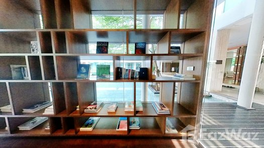 3D Walkthrough of the Library / Reading Room at Ficus Lane