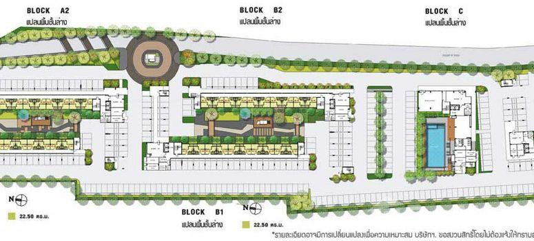 Master Plan of Lumpini Ville Phatthanakan-New Phetchaburi - Photo 1