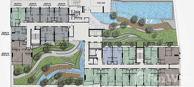 Master Plan of Whizdom Station Ratchada-Thapra - Photo 1