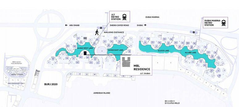 Master Plan of MBL Residences - Photo 1