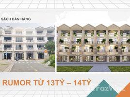 6 Phòng ngủ Nhà mặt tiền bán ở Bình Trị Đông B, TP.Hồ Chí Minh Cần bán nhà phố khu Levata, 1 trệt 3 lầu, DT sàn 275m2, nhà mới xây, đối diện công viên
