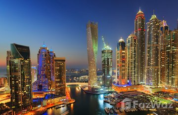 Cayan Tower in Oceanic, Dubai