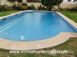 Rabat Sale Zemmour Zaer Na Agdal Riyad villa avec piscine et chauffage à louer au quartier Souissi 5 卧室 房产 租
