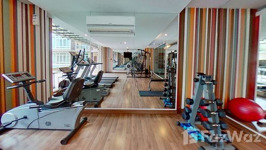 3D Walkthrough of the Communal Gym at The Unique at Nimman