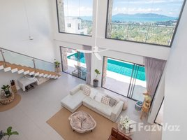 苏梅岛 波普托 Stunning Views From This Huge 3-Bed Bophut Hill Pool Villa 3 卧室 屋 租